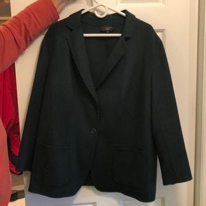 Talbots Woman Dark Green Blazer